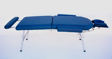 lightweight portable chiropractic table chiroport elite extended neck agate