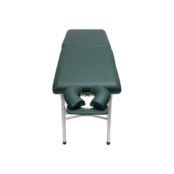 lightweight portable chiropractic table chiroport elite 20 hunter front view