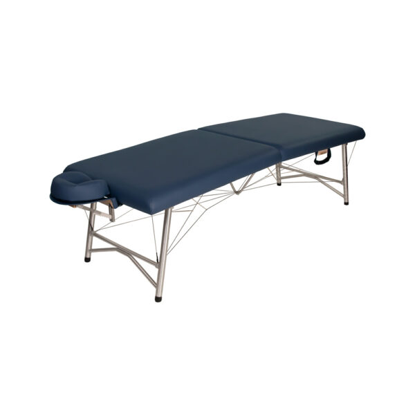 super-lightweight portable massage table agate sideview
