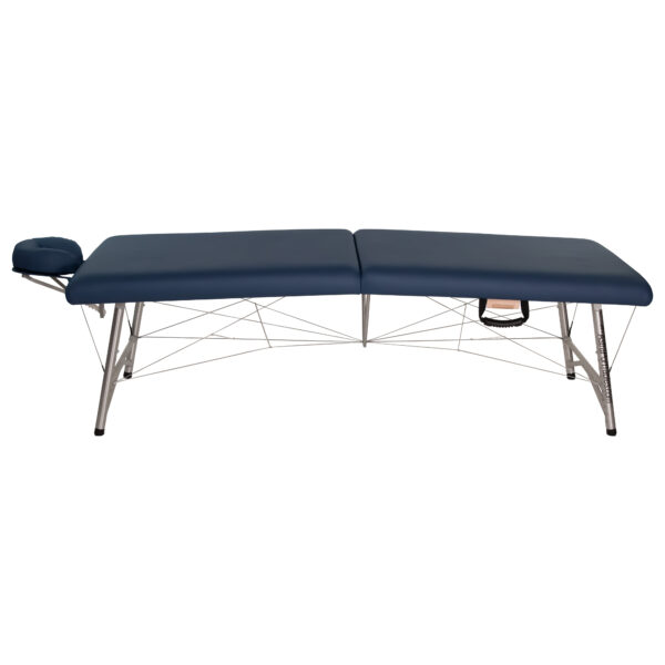 super-lightweight portable massage table agate side view