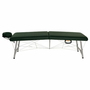 super-lightweight portable astraport massage table hunter side view