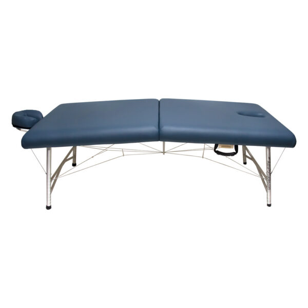 super-lightweight portable massage table cosmos ii agate side view